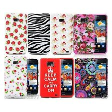 PHONE CASE COVER GEL SILICONE FOR SAMSUNG GALAXY S2 II i9100 TPU SOFT + Screen