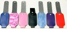4 oz LEATHERETTE MACE PEPPER SPRAY HOLSTER WITH BELT CLIP