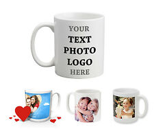Personalised Mug Cup 11OZ with your Photo and Text Coffee Tea Father's day Gift