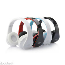 Wireless Bluetooth Headset Stereo Headphone Earphone for iPhone Samsung Folding!