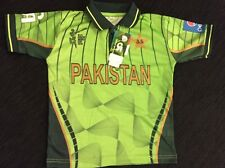 Pakistan World Cup 2015 Official Shirt Junior Kids Size Reduced Special Offer