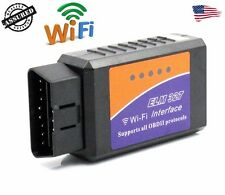 ELM327 WiFi OBD2 Car Diagnostics Scanner Code Reader for iPhone iOS AND Android