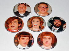 HOUSE OF FOOLS 25MM / 1 INCH BUTTON BADGE SET VIC REEVES & BOB MORTIMER