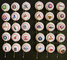 Choose Your Team MLB Baseball CEILING FAN PULL New