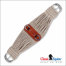 CLASSIC EQUINE COLT CINCH GIRTH HORSE NATURAL MOHAIR ROLLER BUCKLE HORSE