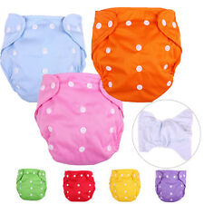 New Baby Infant Nappy Baby Waterproof Adjustable Cloth Diaper Pants