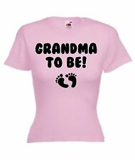 Funny T-Shirt Top Gift Present Idea For Grandmas Nannys Nannas New Baby Shower