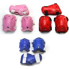 Kid Cycling Roller Ski Skate Skating KNEE/ELBOW/WRIST Safety Protective Gear Pad