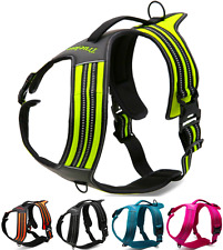 Truelove Hybrid Reflective Padded Easy-On Dog Harness Secure PET Car Harness NWT