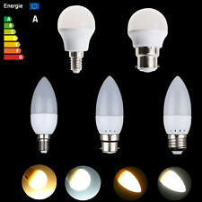 Bright 3W E14 E27 B22 LED Globe Bulb Bombillas 2835 SMD Candle Light Warm Cool
