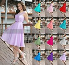 New Arrival Knee Length Evening dress Bridesmaid Dress Party Prom Size 6++++16