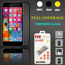 Full Edge Coverage HD Tempered Glass Film Screen Protector For iPhone 6 Plus