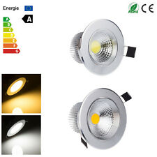 New 3W 5W 7W 9W COB LED Recessed Ceiling Cabinet Down Light Fixture Set + Driver