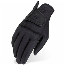 HERITAGE PREMIER SHOW RIDING GLOVES HORSE EQUESTRIAN