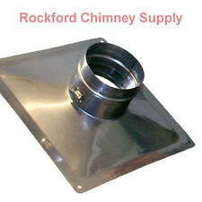 Premium Top Plate for Flexible Chimney Liner- Stainless Steel
