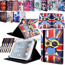 NUOVO Universale Smart Folio Pelle Stand Custodia Cover per Vari 7 inch Tablet PC