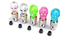 2 PCS UK SELLER SSG Skull LED Valve Cap Bike Light Bike Bicycle Car Accessories