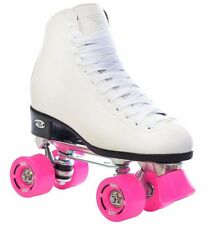 Riedell RW Classic High Top Wave Quad Roller Skates for Ladies