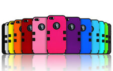 Shockproof Hybrid Armor Rubber Hard Protective Matte Case For iPhone 5g 5s