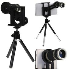 8X Zoom Camera Optical Lens Kit Phone Telescope Tripod for for Moblie Cell Phone