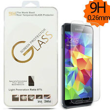 Tempered Glass Screen Protector Film 9H For Samsung GalaxyS3/4/5/6 Note 2 3 4 TB