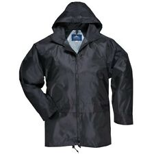 Portwest Mens Classic Casual Hooded Rain Zip up Jacket /Coat Sizes S-2XL (S440)