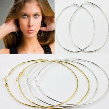 New 20Pcs Circle Basketball Wives Hoop Jewelry Earring 20,30,40,50,60,70,80,90mm