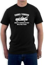 Camel Towing Funny Tee Shirt Adult Humor Rude Gift Tee Tow Truck T Shirt