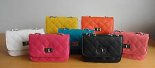 New Quilted Fashion Womens Lady Handbag Clutch Shoulder Bag Messenger Cross Body