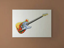 Jimmy Page's 1959 Fender 'Dragon' Telecaster CANVAS PRINT
