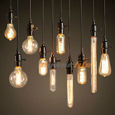 40W 60W Filament Light Bulbs Vintage Retro Industrial Style edison Lamp E27 LC