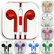 3.5mm Headphone Jack Earbuds In-Ear Headset Mic Earphone for Mobile Phone Laptop