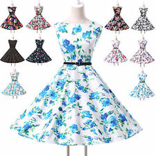 1950'S ROCKABILLY SWING PINUP PARTY FULL CIRCLE RETRO VINTAGE STYLE PROM DRESS