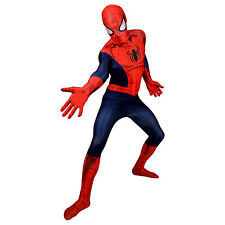SPIDERMAN MORPHSUIT - Official licensed Marvel adults fancy dress costume M L XL