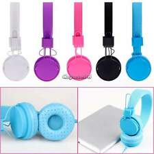 3.5mm Stereo Over Head Headphone Earphone Headset For PC Mobile Phone MP3 MP4