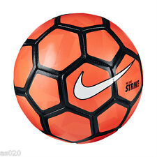 NEW Nike Duro Strike 2015 Football Soccer Ball - Bright Crimson & Black - Size 5