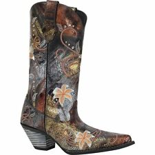 "Durango Crush Womens 12"" Rhinestone Embroidered Western Boot RD3030"