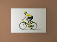 Bradley Wiggins - Tour de France Winner 2012 CANVAS PRINT