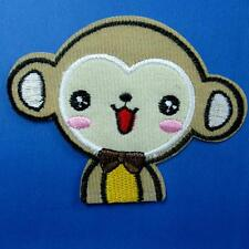 Monkey Animal Pet Iron on Sew Patch Cute Applique Badge Embroidered Animal Baby