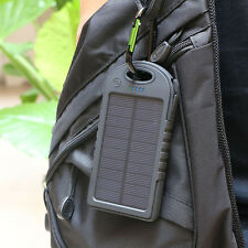 16000mAh Dual USB Portable Solar Panel Battery Charger Power Bank For Cell Phone