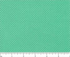 """MINI DOTS 100% COTTON FABRIC 44-45"""" wide GREEN COLORWAY SIZE & COLOR YOUR CHOICE"""