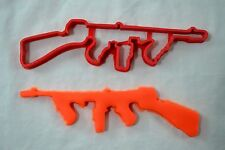 Tommy Gun Cookie Cutter CHOOSE YOUR OWN SIZE! Gangster Party