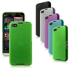 Transparent Matte TPU Gel Silicone Case Cover for BlackBerry Z30