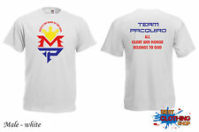 All Glory and Honor Belongs to God MANNY PACQUIAO MAYWEATHER BOXER T-SHIRT White