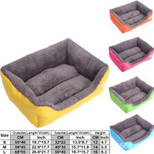 Dog Bed Cat Pet Home Bed -Heavy Duty Futon Mat Cushion -Small Medium Extra Large