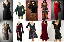 Gothic steampunk lace mesh brocade tie dye damask corset peacock lace maxi dress