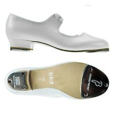 White Bloch timestep low heel tap shoes - heel and toe taps (S0330) - all sizes
