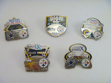 Pittsburgh Steelers Limited Edition Super Bowl Champions Pin - Select your Pin