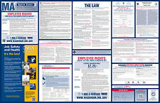2017 Massachusetts State & Federal Labor Law Poster - All-On-One