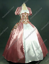 Victorian Royal Princess Corset Bustle Ball Gown Prom Dress Theatre Quality 329